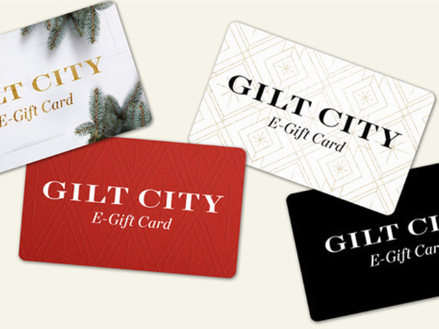 $40 Gilt City E-Gift Card