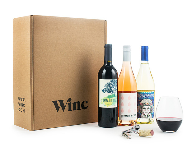 3 Bottles of Wine from Winc Wine for New Customers