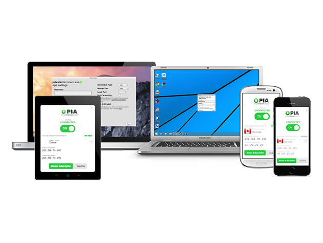 Private Internet Access VPN: 2-Yr Subscription