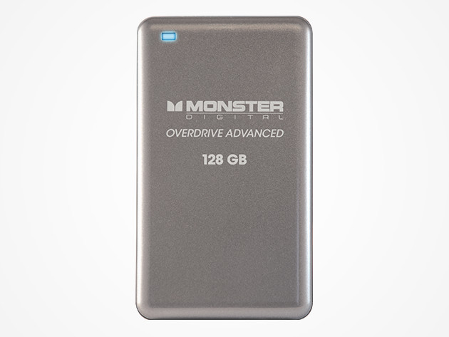 Monster Digital 128GB Solid-State Portable Hard Drive