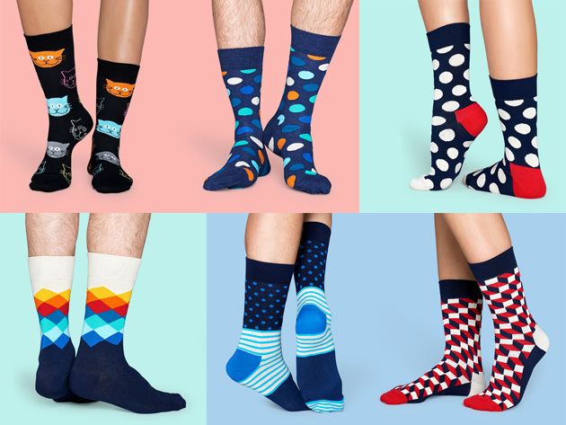 Happy Socks: Pay $39 for $60 of Site-Wide Credit