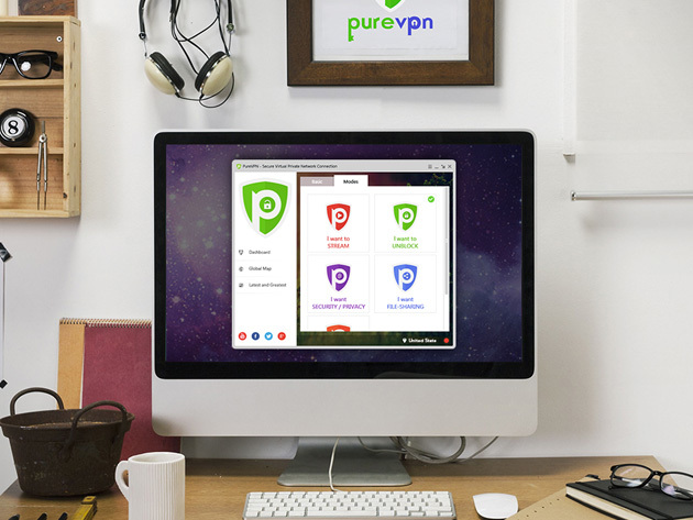 PureVPN: Lifetime Subscription - Trust the World's Fastest VPN with Your Internet Security & Freedom