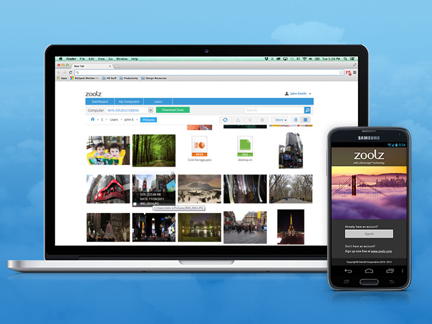 Zoolz Cloud Storage: 1TB Lifetime Subscription