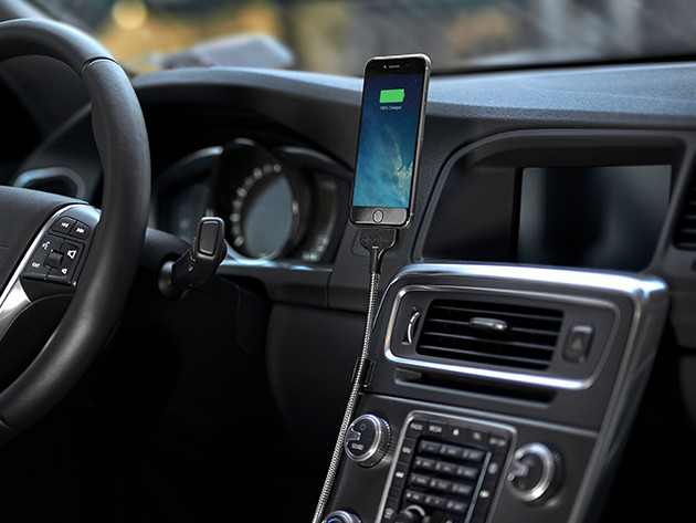 Bobine Auto Flexible iPhone Dock
