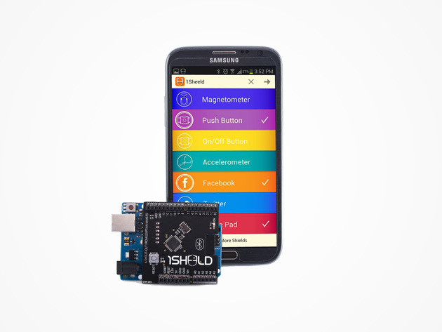 1Sheeld Arduino Shield for Android