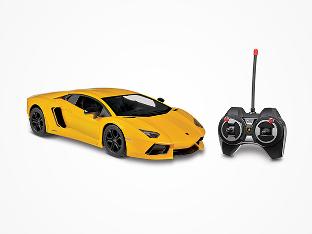 Lamborghini Aventador Electric RC Car (Yellow)