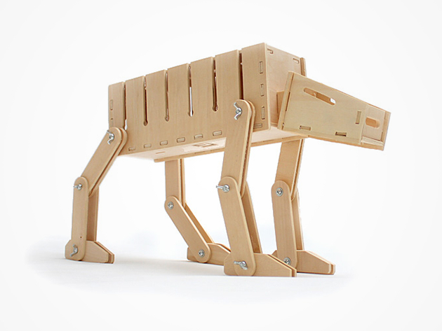 DIY AT-AT Cable Organizer & Card Case
