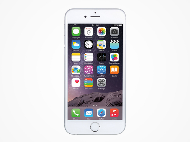how to get iphone 6 to read text