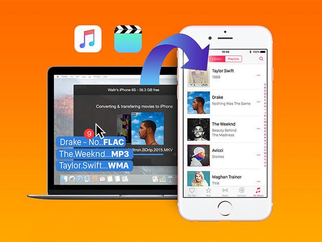 WALTR Audio/Video Uploader for Mac