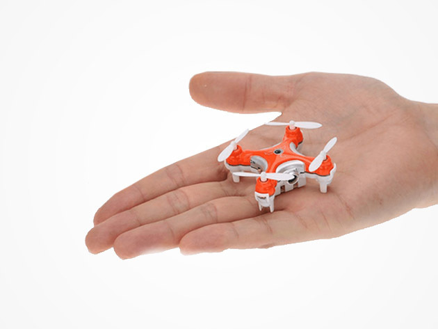 World's Smallest Camera Drone + 2GB Micro SD Card (Orange)