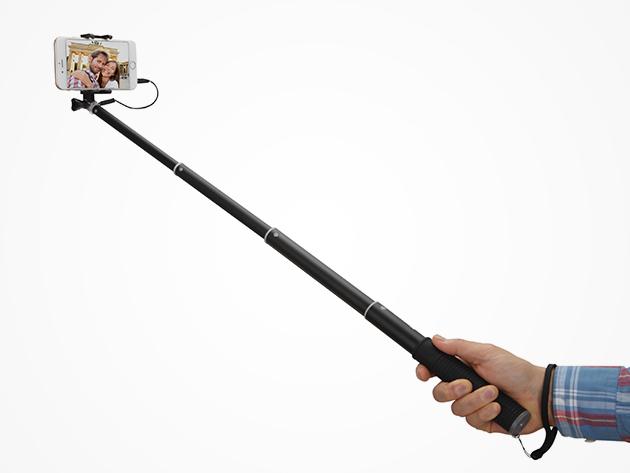 ExoPod Aluminum Selfie Stick