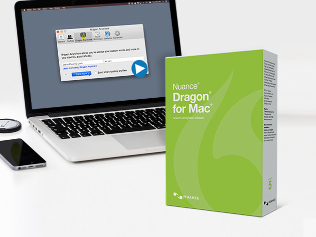 Dragon 5 for Mac