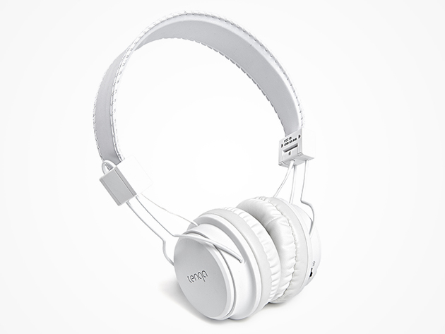 REMXD On-Ear Bluetooth Headphones (White)