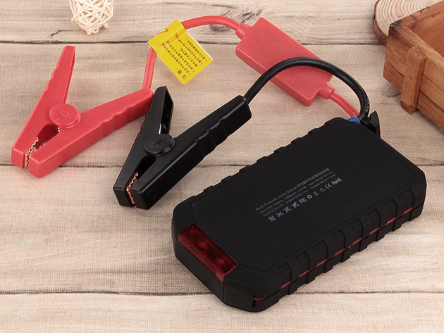 Kinkoo 10,000mAh Car Jump Starter Power Pack