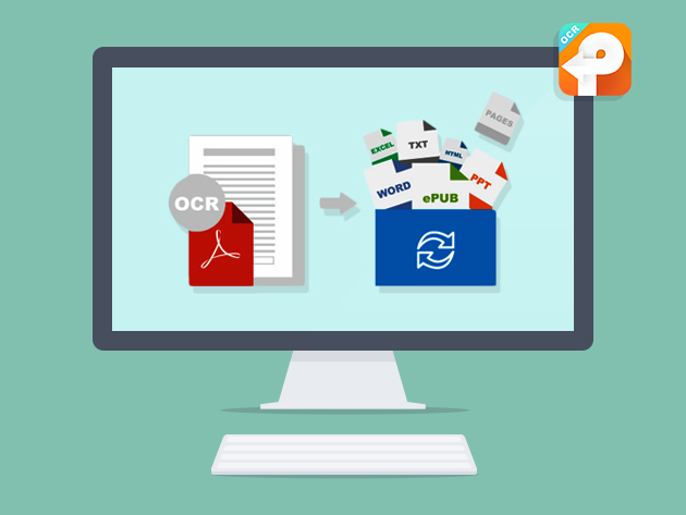 PDFConverterOCR for Mac - Convert Native & Scanned PDFs into a Range of Editable Documents