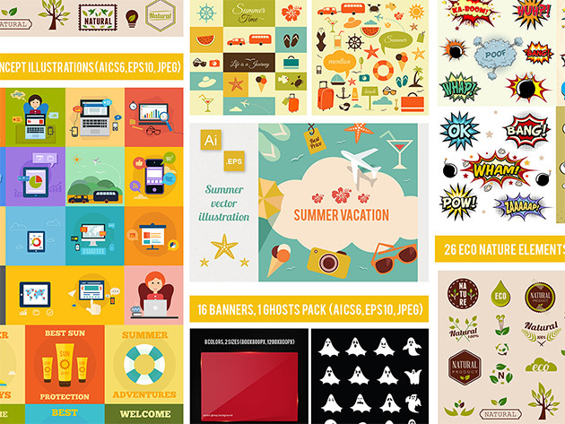 Get 1,200+ design elements for $19