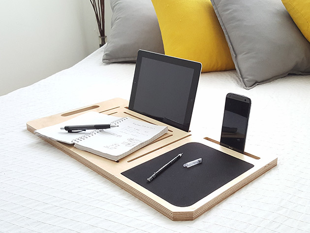 Get More Done with This Fully-Portable Desk Made for the Tech-Inclined
