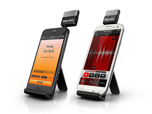 iRig Mic Cast: Voice Recorder