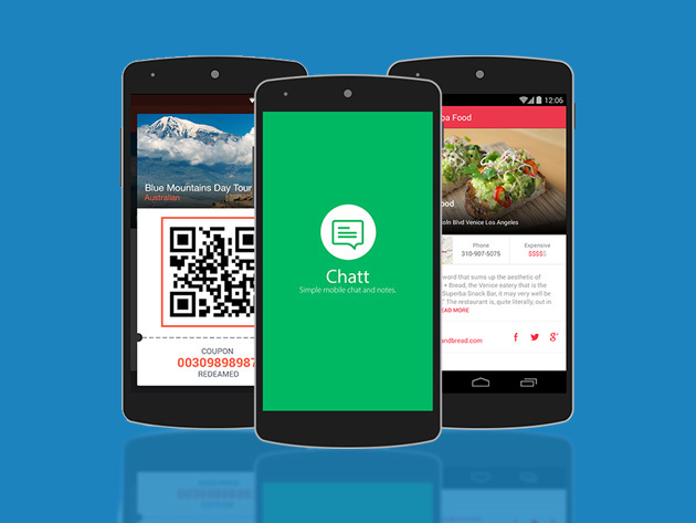 6 Professionally-Designed Android App Templates