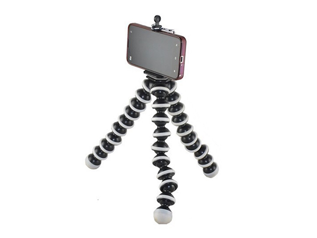Flexible Tripod for Smartphones & Cameras