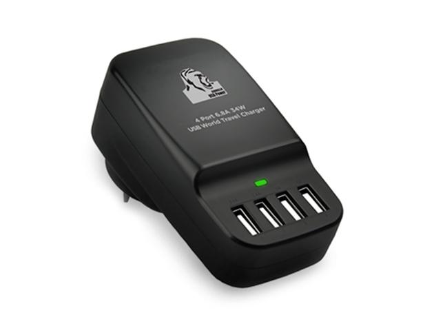 Gorilla Power 4-Port USB Charger