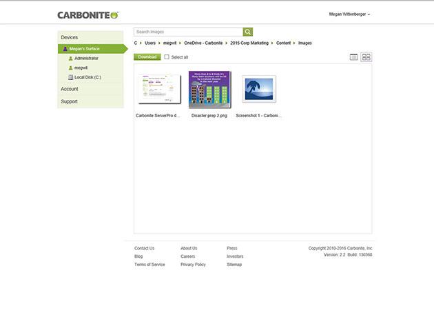 carbonite-login