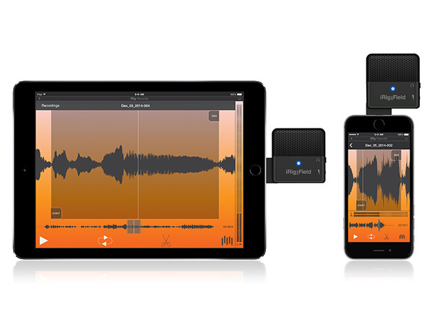Audio mic - security audio recording device